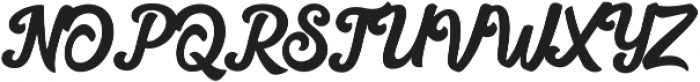 Hilton Script otf (400) Font UPPERCASE