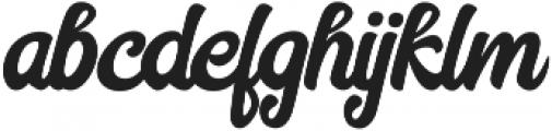 Hilton Script otf (400) Font LOWERCASE