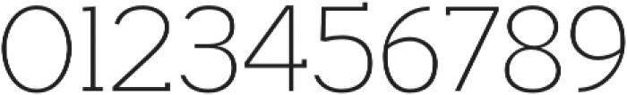Hilton Serif Regular otf (400) Font OTHER CHARS