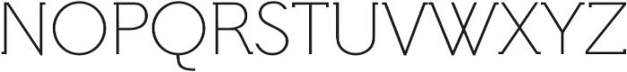 Hilton Serif Regular otf (400) Font UPPERCASE