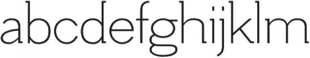 Hilton Serif Regular otf (400) Font LOWERCASE