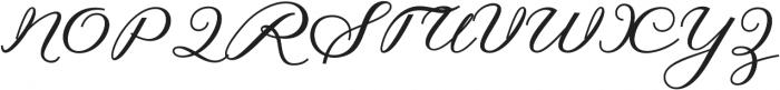 Hilwen  Regular otf (400) Font UPPERCASE