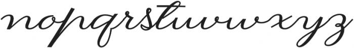 Hilwen  Regular otf (400) Font LOWERCASE