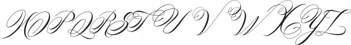 Hime Script Vmf otf (400) Font UPPERCASE