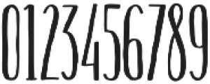 Hinterland Regular otf (400) Font OTHER CHARS