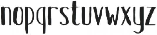 Hinterland Short Regular otf (400) Font LOWERCASE