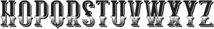 HippieFont TextureShadow otf (400) Font LOWERCASE