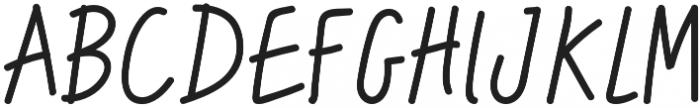 Hipster Doofus Regular otf (400) Font UPPERCASE
