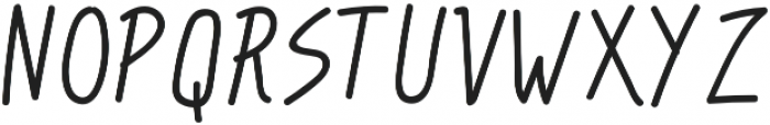 Hipster Doofus Regular otf (400) Font LOWERCASE