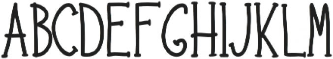 Hipster Hand Drawn otf (400) Font UPPERCASE