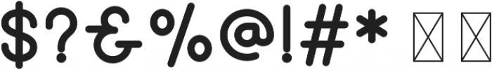 Hipster Sans Bold otf (700) Font OTHER CHARS