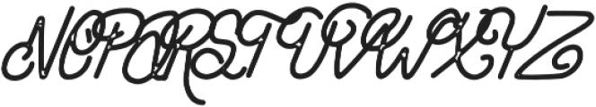 Hipstetic Monoline Bonus otf (400) Font UPPERCASE