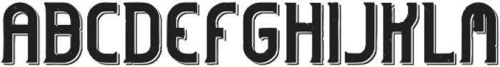 Hipstetic Shadow otf (400) Font LOWERCASE
