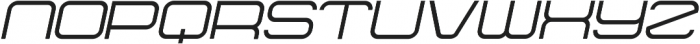 Hiroba ttf (400) Font UPPERCASE