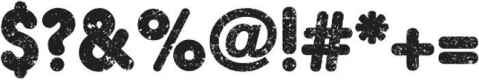 Hiroko Black ttf (900) Font OTHER CHARS
