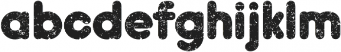 Hiroko Black ttf (900) Font LOWERCASE