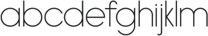 Hiruko Pro Alternate ttf (200) Font LOWERCASE