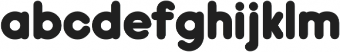 Hiruko Pro Alternate ttf (900) Font LOWERCASE