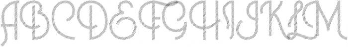 Historica Gradient otf (400) Font UPPERCASE