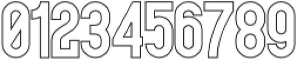 Historica Outline otf (400) Font OTHER CHARS