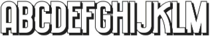 Historica Shadow otf (400) Font LOWERCASE