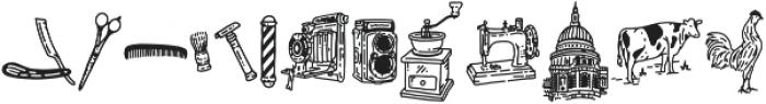 Historical Extra otf (400) Font LOWERCASE