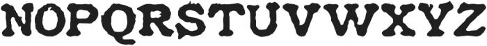 Historical Press otf (400) Font UPPERCASE