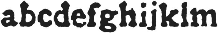 Historical Press otf (400) Font LOWERCASE
