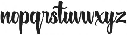 Historise Update Regular otf (400) Font LOWERCASE