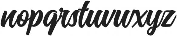 History Regular ttf (400) Font LOWERCASE