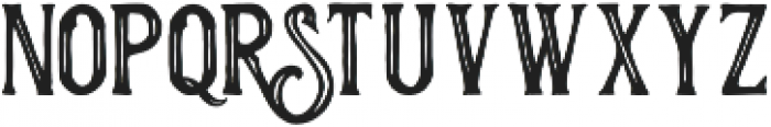 Historycal Inline otf (400) Font LOWERCASE