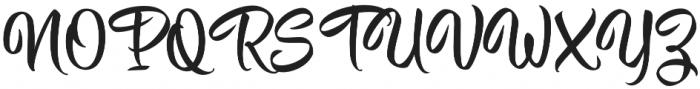 Hisyam Script otf (400) Font UPPERCASE
