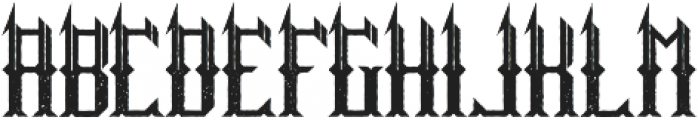 HitTheLight Aged otf (300) Font UPPERCASE