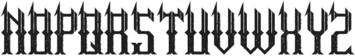 HitTheLight Aged otf (300) Font LOWERCASE