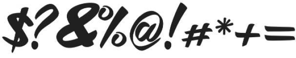 Hitam otf (400) Font OTHER CHARS