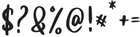 hilda otf (400) Font OTHER CHARS