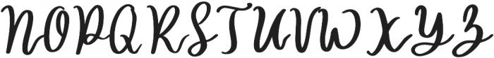 hilda otf (400) Font UPPERCASE