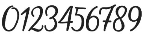 hillania font Regular otf (400) Font OTHER CHARS