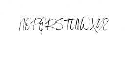 Hi Morgane Font UPPERCASE