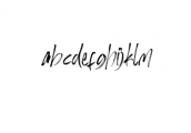 Hi Morgane Font LOWERCASE
