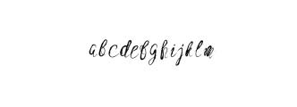 High Desert.ttf Font LOWERCASE