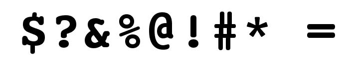 HI Kakuhihewa  Bold Font OTHER CHARS