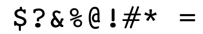 HI Kakuhihewa  Plain Font OTHER CHARS