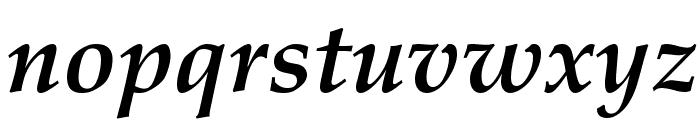 HI Piilani Bold Italic Font LOWERCASE