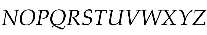 HI Piilani Italic Font UPPERCASE