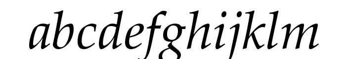 HI Piilani Italic Font LOWERCASE