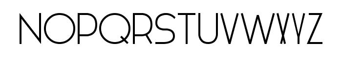 HIELO regular Font UPPERCASE