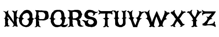 HIGHONFIRE Font UPPERCASE