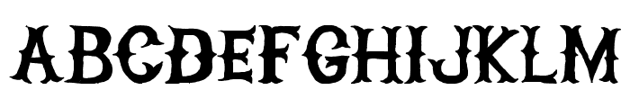 HIGHONFIRE Font LOWERCASE