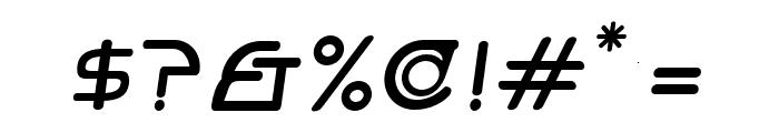 Hi. Bold Oblique Font OTHER CHARS